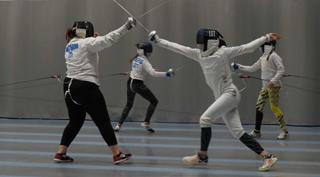 fencing practice in haapsalu